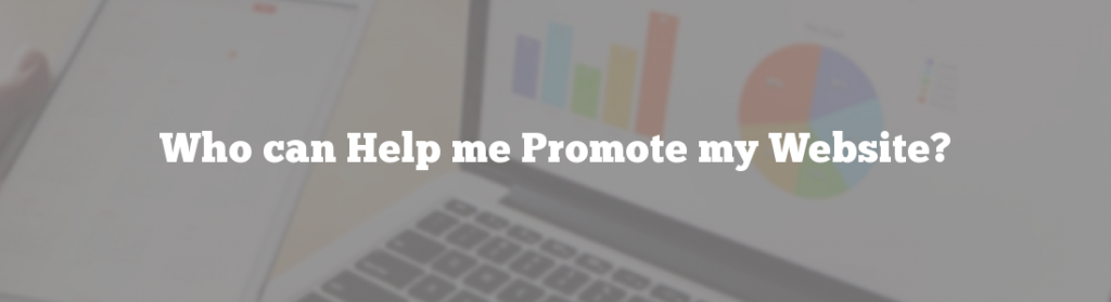 Who can Help me Promote my Website?